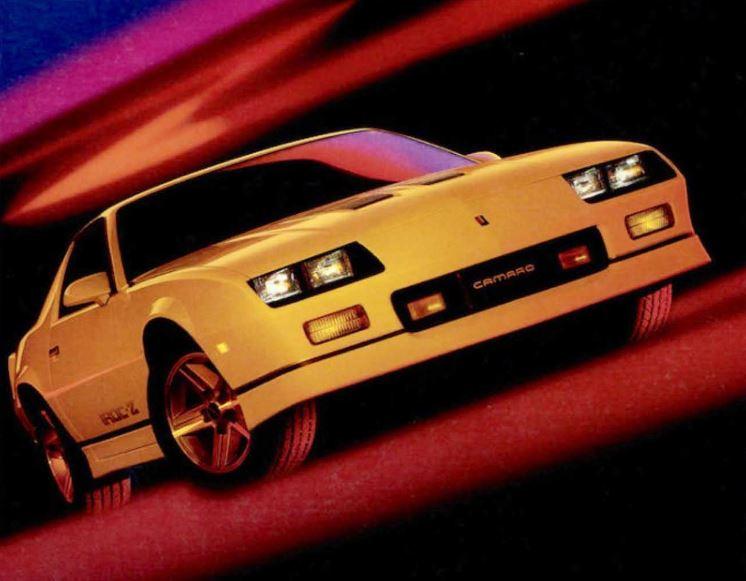 1985 1990 chevrolet camaro iroc z horsepower memories 1985 1990 chevrolet camaro iroc z