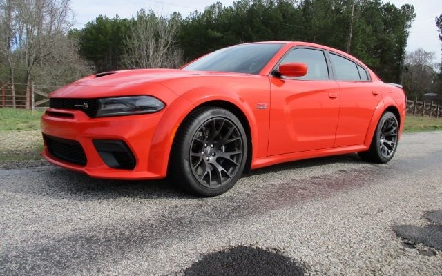 dodge charger scat pack orange 1 Dodge Charger Scat Pack Widebody First Drive and Review