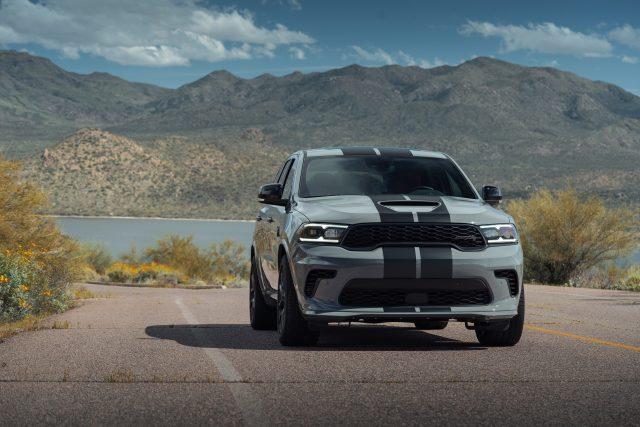 Dodge Durango SRT Hellcat: The refreshed exterior on theDurango